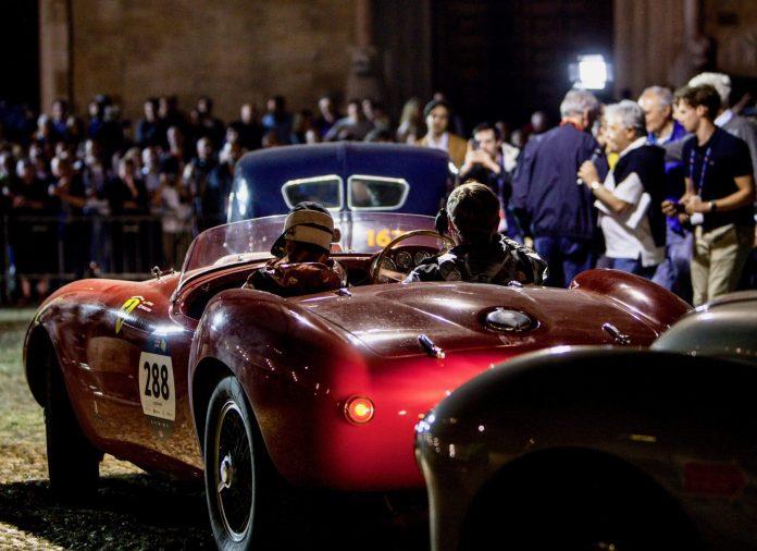 course automobile Mille Miglia Rome