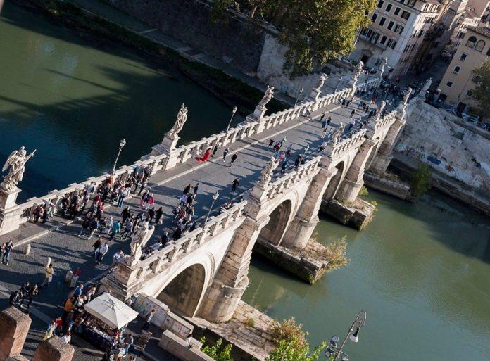 ponts historiques Rome photo
