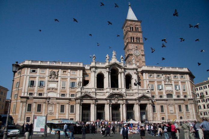 Rome chrétienne Santa Maria Maggiore Rome