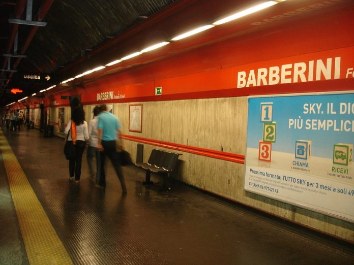 stations de métro Barberini Rome