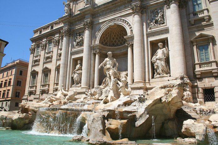 fontaine trevi rome