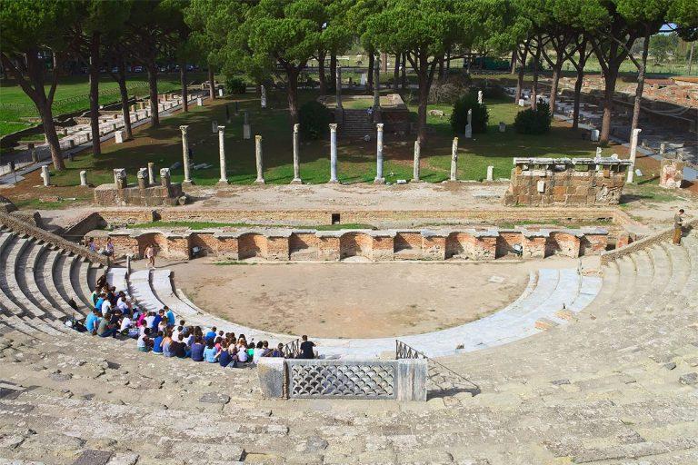 Visite guidée d'Ostie, le port de la Rome antique